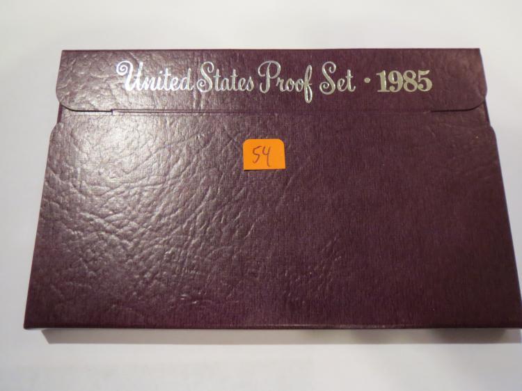 1985S US Proof Set