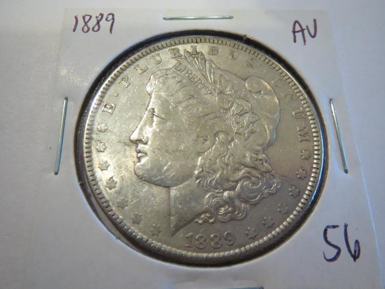 1889 Morgan Silver Dollar - AU