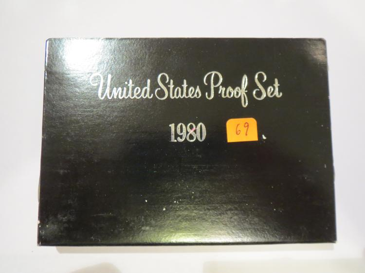 1980S US Proof Set