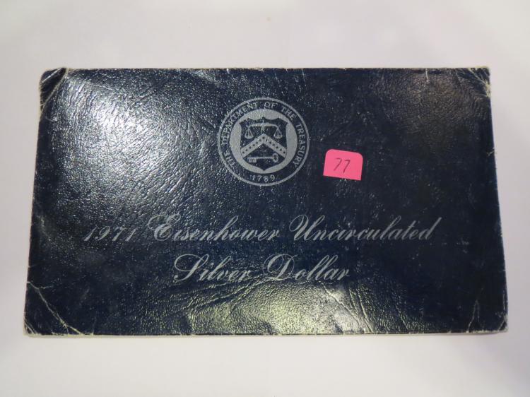 1971S Eisenhower Silver Dollar - UNC