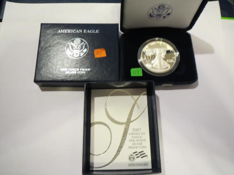2007W American Silver Eagle