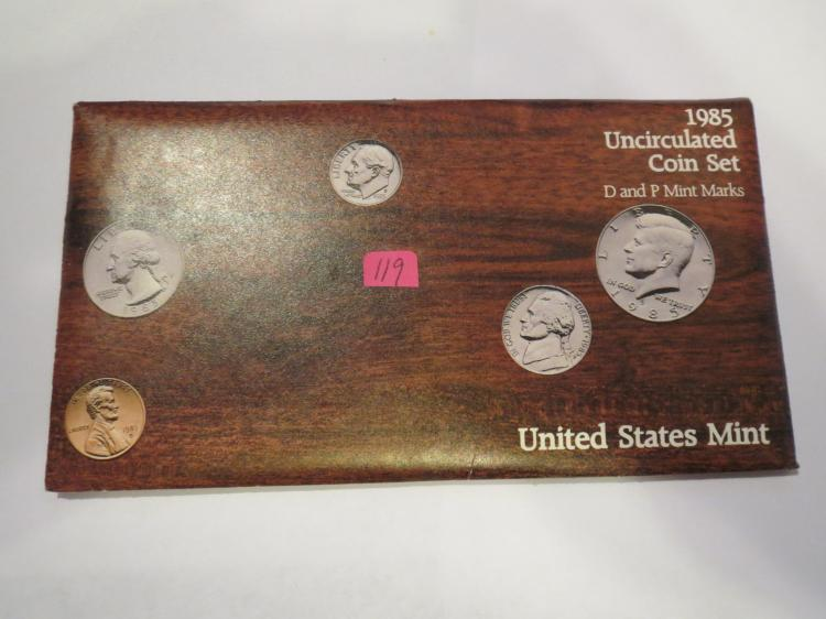 1985 P & D US Mint Set - UNC