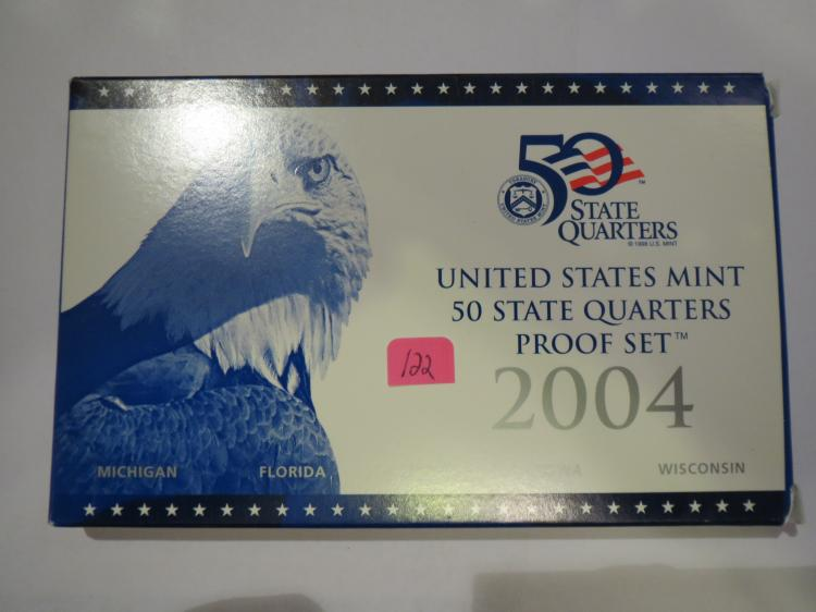 2004S US Quarters Proof Set