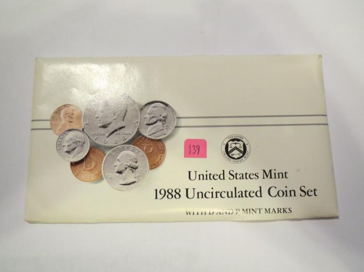 1988 P & D US Mint Set - UNC