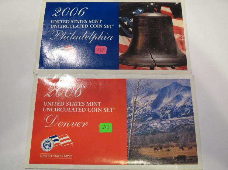 2006 P & D US Mint Set - UNC