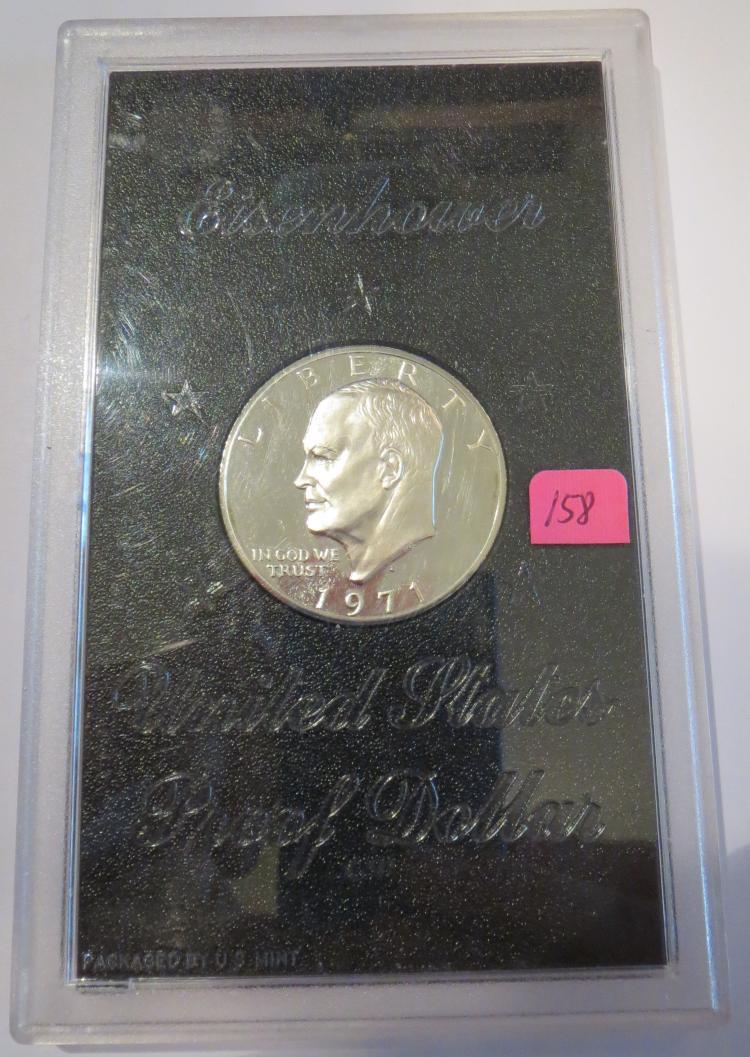 1971S Eisenhower Silver Dollar