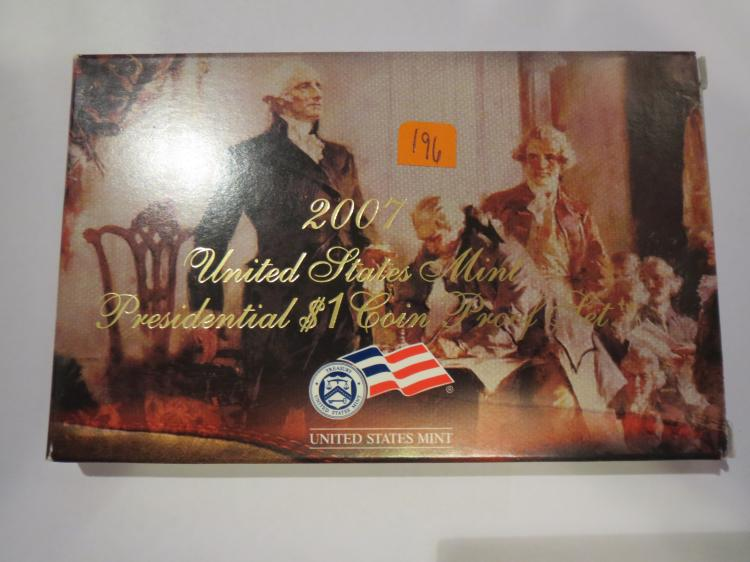 2007S US Presidential Dollar Set
