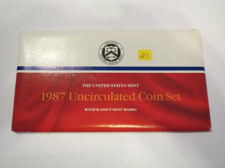 1987 P & D US Mint Set