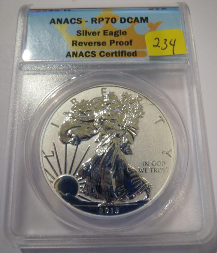2013W American Silver Eagle