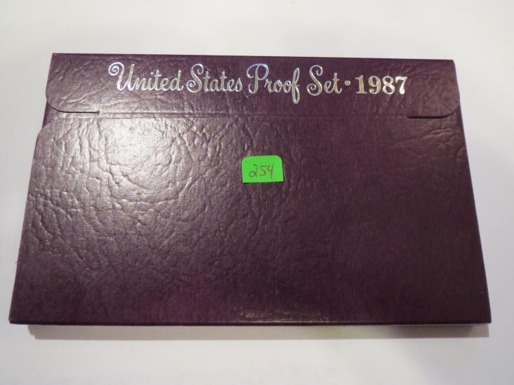 1987S US Proof Set