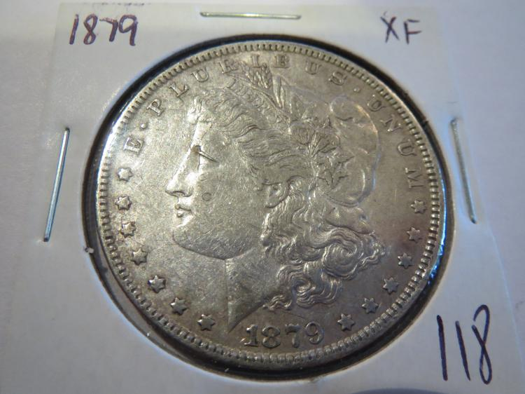 1879 Morgan Silver Dollar - XF