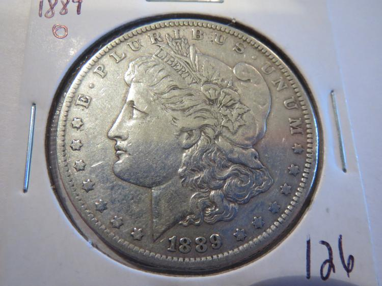 1889O Morgan Silver Dollar - XF