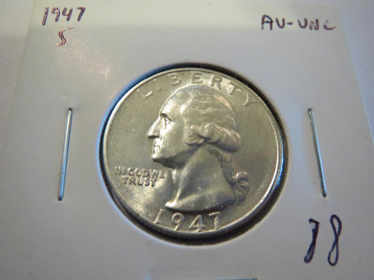 1947S Washinton Silver Quarter