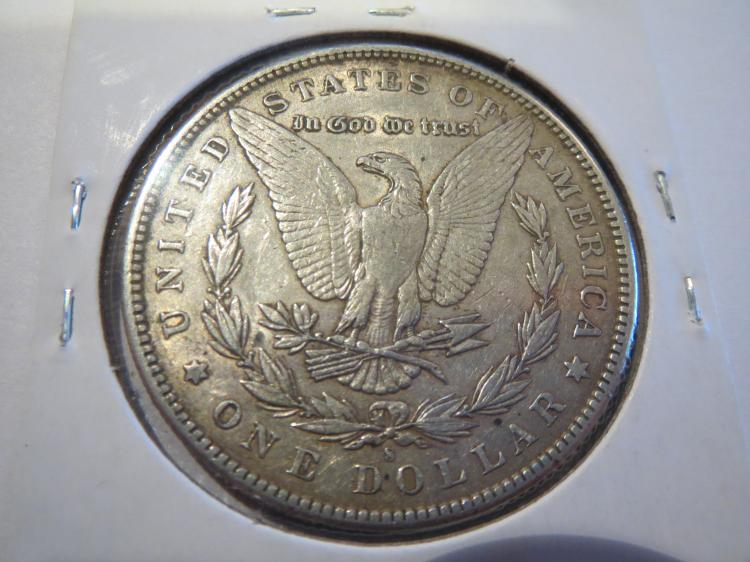1891S Morgan Silver Dollar - XF
