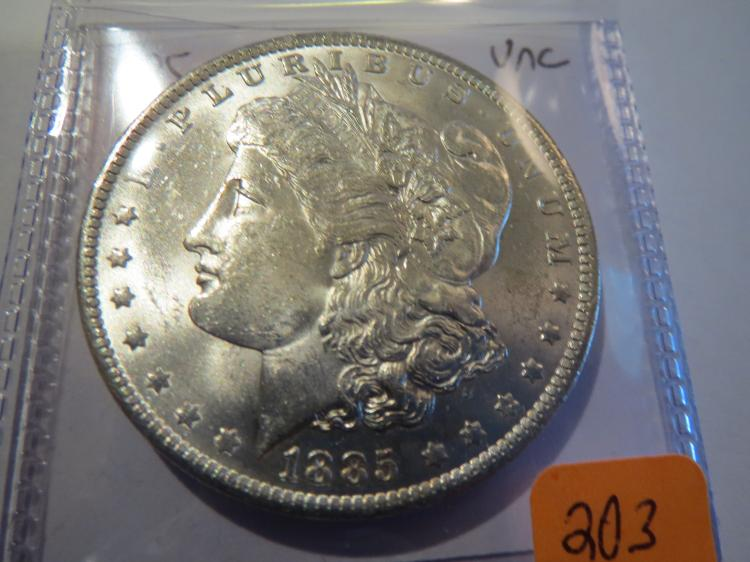 1885O Morgan Silver Dollar - UNC