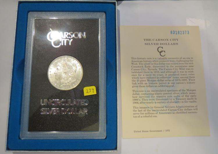 1883CC Morgan Silver Dollar GSA