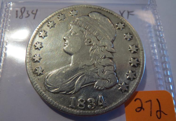 1834 Capped Bust Half Dollar - XF