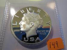 2003 Norfed Silver Liberty 1/2 oz .999 Silver