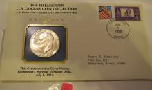 1973S Eisenhower Silver Dollar -