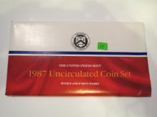 1987 P & D US Mint Set - UNC
