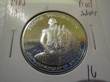 1982S George Washington Commemorative Silver Half Dollar