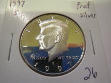1997S Kennedy Silver Half Dollar - Proof