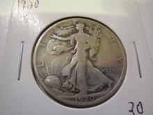 1920S Walking Liberty Half Dollar