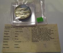 2000 Liberia $5 Air Force One