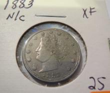 1883 No Cents Liberty Nickel