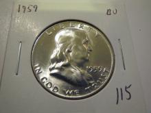1959 Franklin Half Dollar - BU