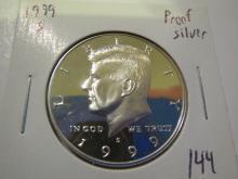 1999S Kennedy Silver Half Dollar - Proof