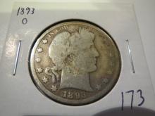 1893O Barber Half Dollar