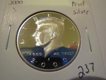 2000S Kennedy Silver Half Dollar - Proof