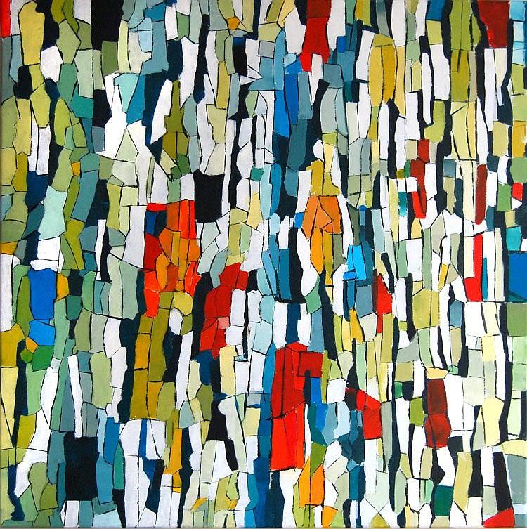 Antoinette Grote Gansey (1953), light in lead