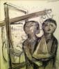 Jan Goeting (1918 - 1984), broken arm