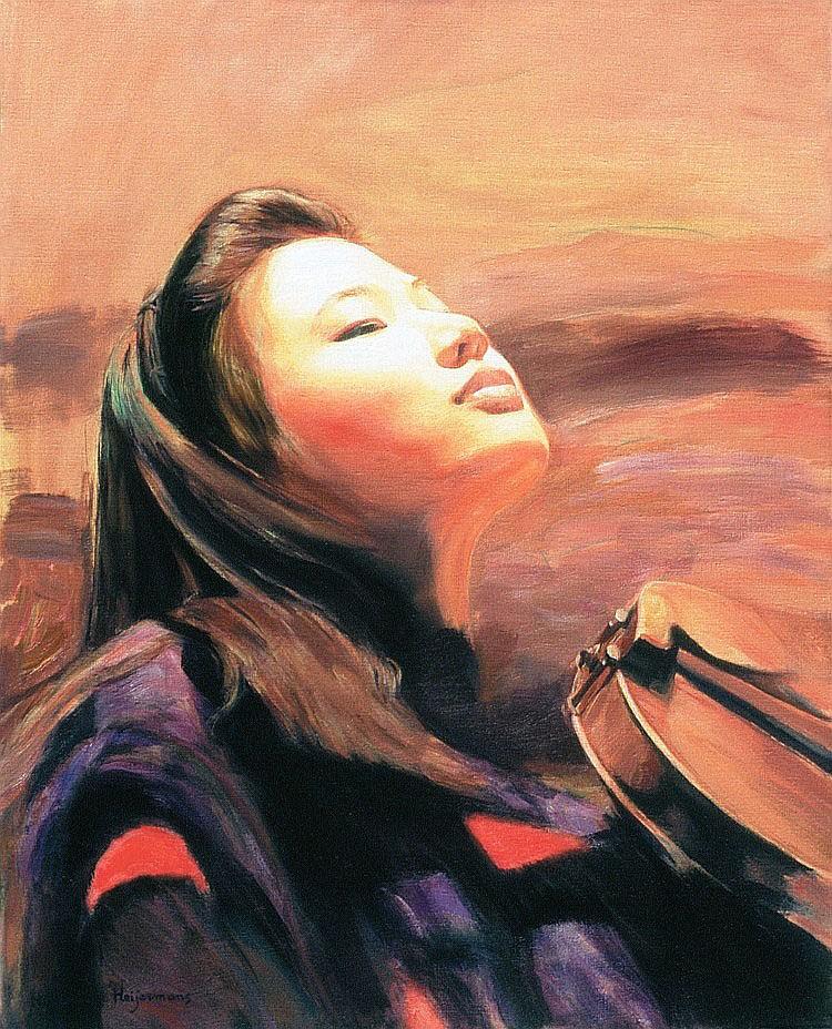 Hubertine Heijermans (1936), Sarah Chang, 1996