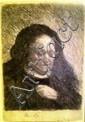 Rembrandt van Rijn (1606 - 1669), mother of Rembrandt