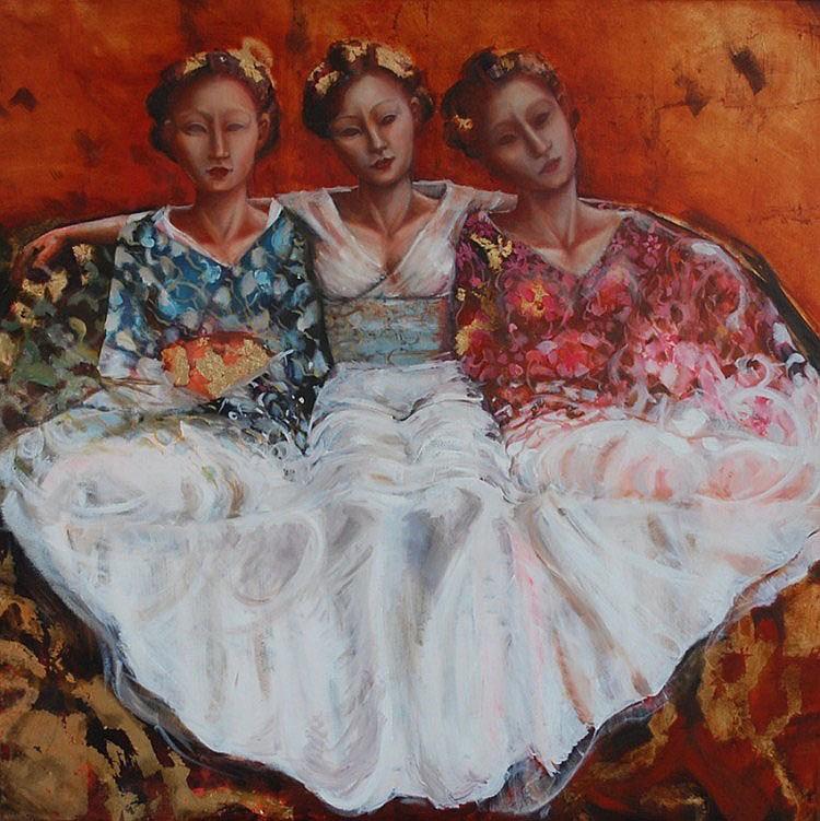 Birgit B. de Boer (1973), three grace