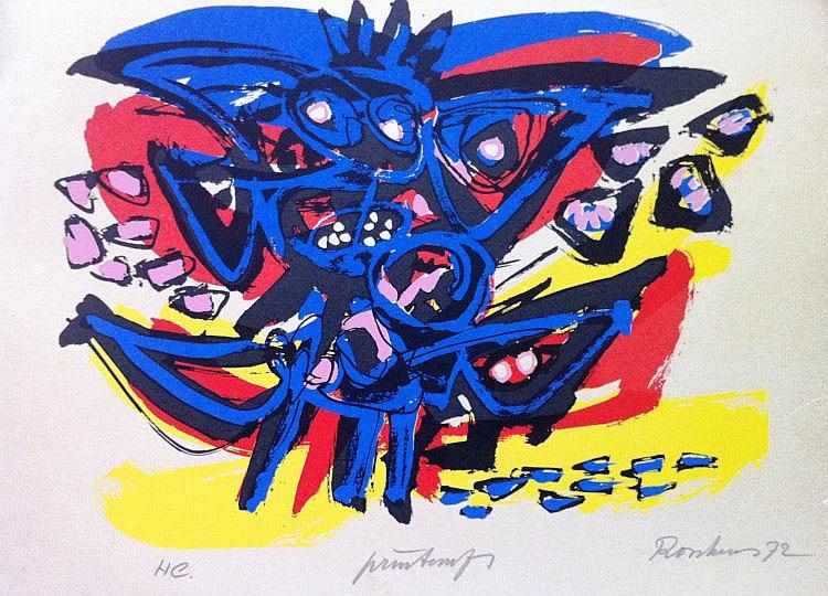 Anton Rooskens (1906 - 1976), Printemps, 1972
