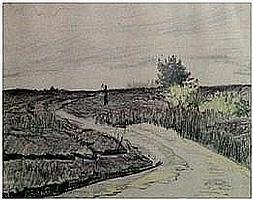 Taco Mesdag (1829-1902) attributed to, heathland