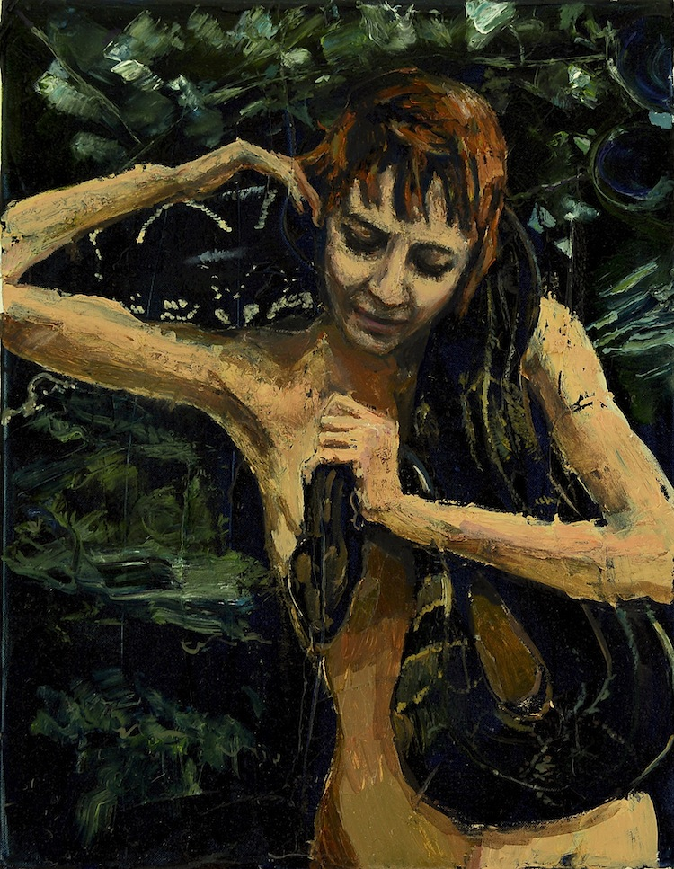Eve - Original Oil on Canvas by Michelle Rogers