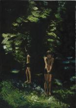 Summer in the Woods - Original Oil on Canvas by Michelle Rogers
