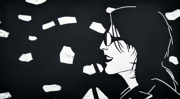 Sharon by Alex Katz - Limited Edition Linocut