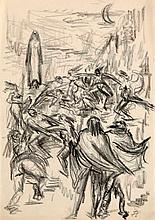 Cremer, FritzWalpurgisnacht. Graphit- und