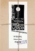 Deisler, GuillermoVisual Poem. Mit 10 einliegenden