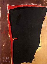 Mackensen, GerdRote Sense. (1989). Farb-Alugraphie