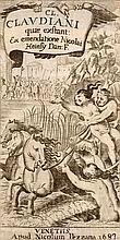 Claudianus, Claudius (Opera) quae exstant: ex