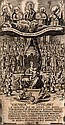 Excubiae tutelares LX heroum. Mit 1 gest. Titelseite u. zahlr. Holzschnitt-Buchschmuck. München, Leysserius, 1637. 2 Bll. 613 S. 4 Bll. - Kl.-8°. Schweinsldr. d. Zt. mit reichen Blindprägungen, Wappensupralibros und Metallschließen (berieben,