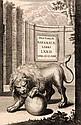 Boicae Gentis Annalium, 2 Bde., Pars I.-III. Mit gest. Kupfertitel u. Holzschnitt-Buchschmuck. München, Schell, 1662. 6 Bll., 708 S., 5 Bll. u. 335 S., 6 Bll., 630 S., 7 Bll., 2 w. Bll. Folio, Prgt. d. Zt. (berieben u. bestoßen, tls mit kl.