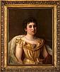 Neuman, Damenporträt, Öl